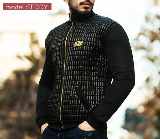 کاپشن مردانه مدل Teddy