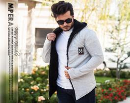 هودی خزدار مردانه  مدل  Mpera(تمام خز)