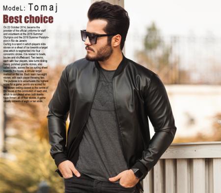 کاپشن مردانه مدل Tomaj