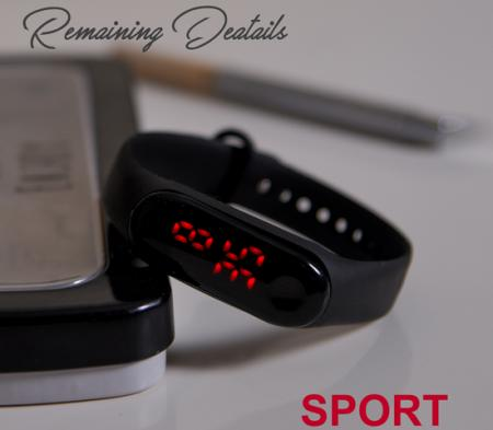 ساعت دستبندی LED مدل Segment