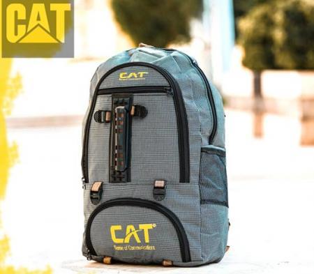 کوله پشتی CAT مدل ERVIN (خاکستری)