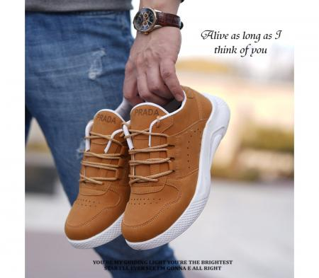 کفش PRADAمدل Aytash( عسلی)