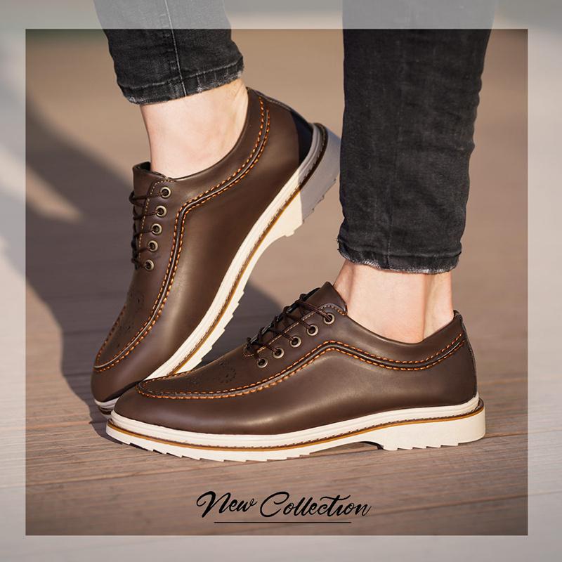 کفش مجلسی مدل ecco مدل Nora(قهوه ای)