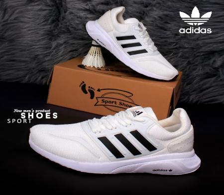 کفش مردانه adidas مدل Rezi (سفید مشکی)