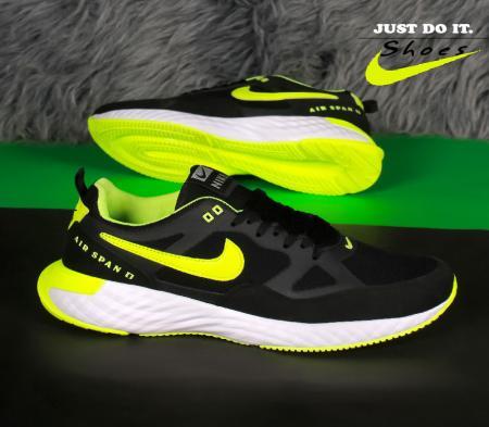 کفش مردانه Nike مدل Span (مشکی سبز)