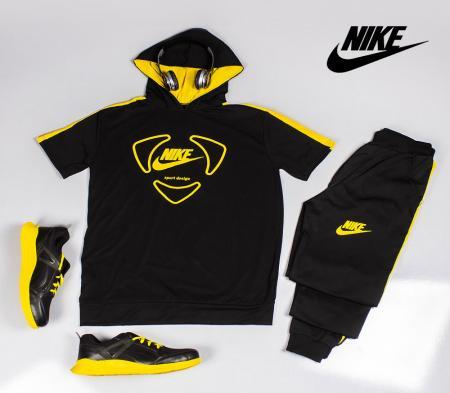 ست تیشرت و شلوار Nike مدل desing